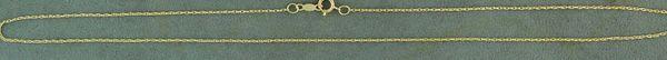 """14"""" Fine Link Pendant Chain"""