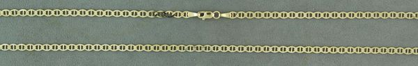 """24"""" Yellow Gold Anchor Link Chain"""