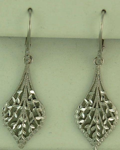 Ladies Filigree Drop Earrings