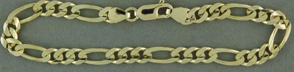 """8"""" Figaro Link Bracelet"""