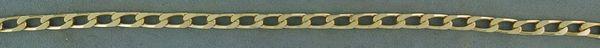 "8"" Flat Link Bracelet"
