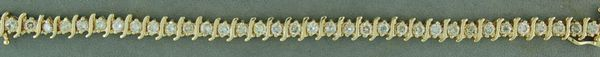 5-1/4ctw Diamond tennis Bracelt
