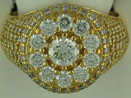 Gentleman's 3ctw Diamond Ring