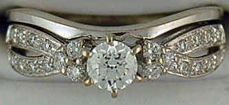 Ladies 1/2ctw Diamond Wedding and Engagement Set