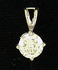1/2ct Diamond Pendant