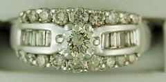 Ladies 1ctw Diamond Ring