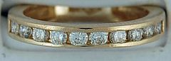 Ladies 5/8ctw Diamond Band