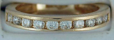 Ladies 5/8ctw Diamond Band