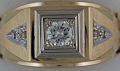 1/2ctw Gentlemans Ring