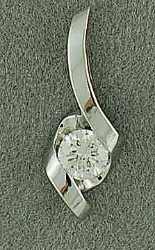 1/4ct Diamond Pendant