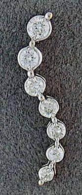 1/4ctw Diamond Journey Pendant