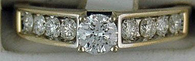 Ladies Dimaond Engagement Ring