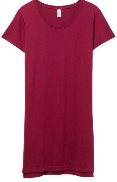 Legacy Garment Dyed T-shirt Dress- Redwood