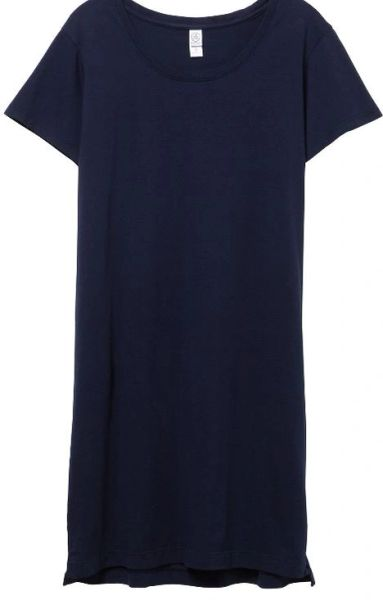 Legacy Garment Dyed T-shirt Dress- Midnight