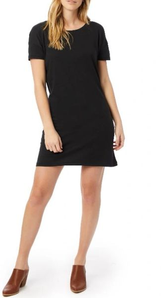 Straight up Cotton Model T-shirt Dress Black (3 colors)