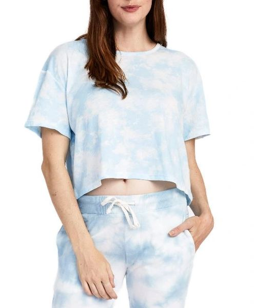Relaxed Tie Dye Flowy Crop (4 Colors)