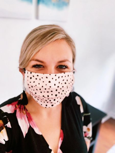 Reversible Organic Cotton Mask- A Redefined Courage Item