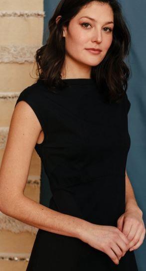 Elise Sheath Dress Black Jersey