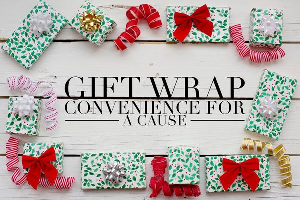 Gift Wrap Supporting Redefined Courage