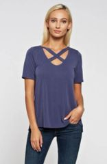 Jac Criss Cross Top