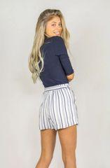 Zuna Hamptons High Waist Shorts