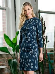 Dress- Nina Ruched Twilight Dress
