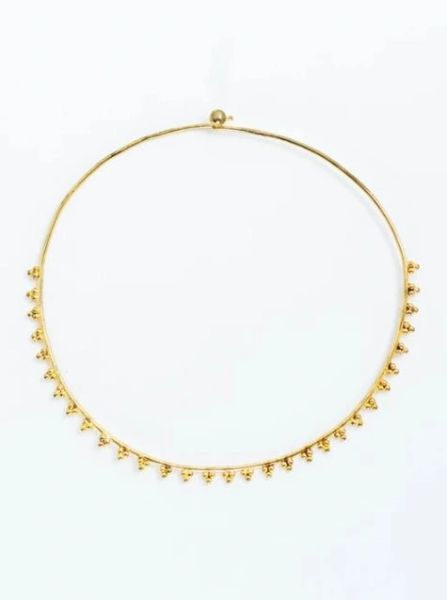 A Redefined Courage Item- Pryanka Necklace Gold