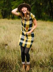 Belmore Dress Goldenrod
