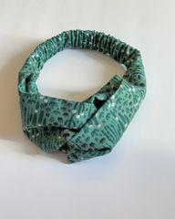 Camille Elastic Headband- Cactus