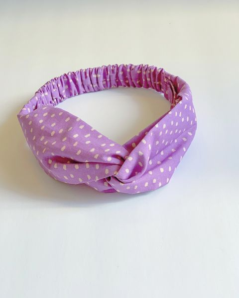 A Redefined Courage Item- Camille Elastic Headband- Spotted