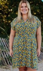 Apparel- Midtown Dress Citrine Pre Order