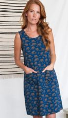 Apparel- Lisbon Shift Dress Elephants Pre Order