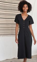 Apparel- Madrid Midi Dress Black