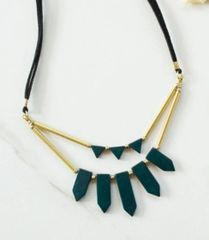 Accessory- Ishaana Upcycled Necklace Green