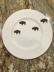 Limited Edition Roaming Buffalo 6-Piece Dinner Place Setting