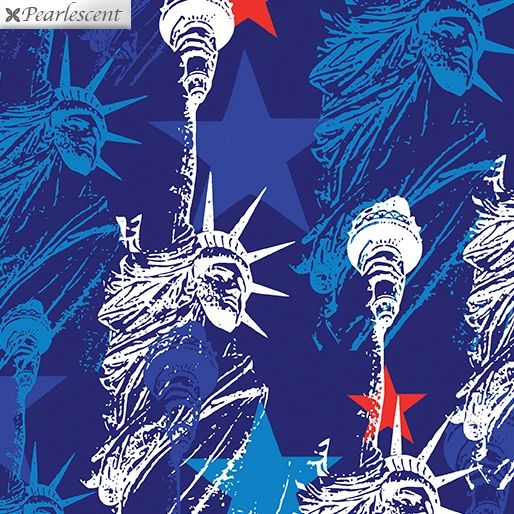 Kanvas Studio Lady Liberty Blue