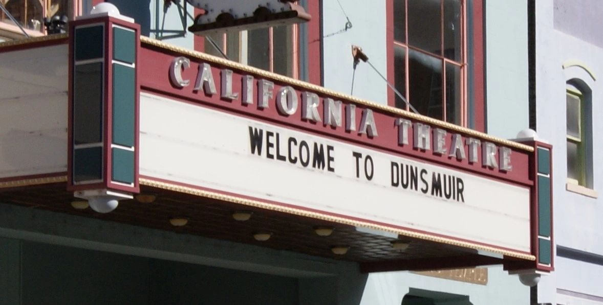 California Theatre, Dunsmuir, California.
