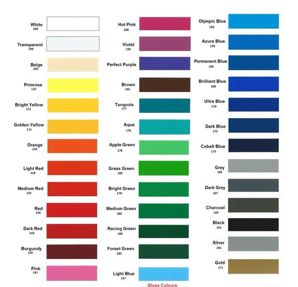 A4 Vinyl Self Adhesive Sheets x 20  Sticky Back Plastic  10 colours   10 Black