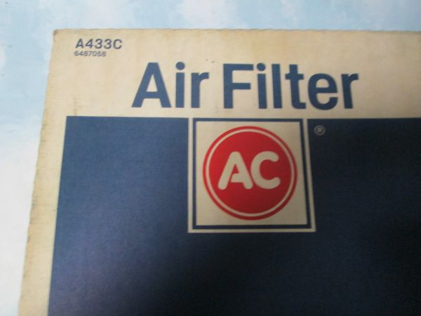 A 433 AC DELCO AIR FILTER NEW