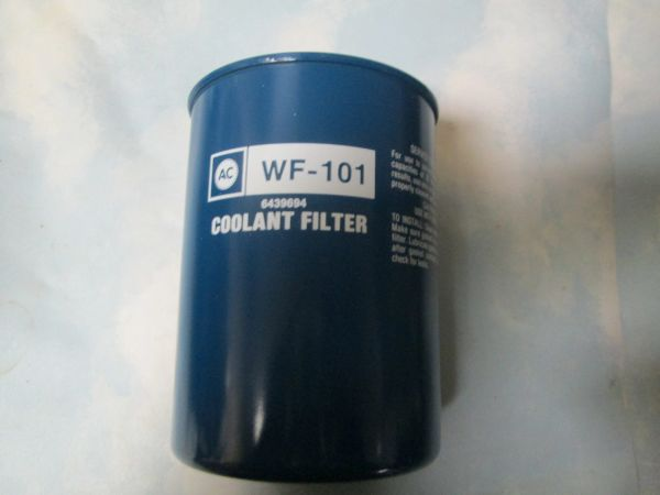 AC WF-101 COOLANT FILTER NEW