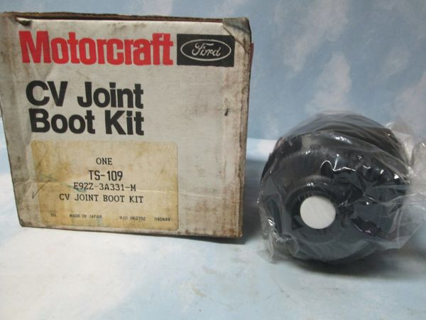 TS-109 MOTORCRAFT CV JOINT BOOT KIT NOS 89-92 FORD PROBE