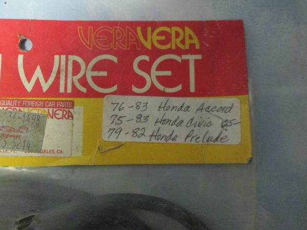 175-5214 VERA IGNITION WIRE SET NEW