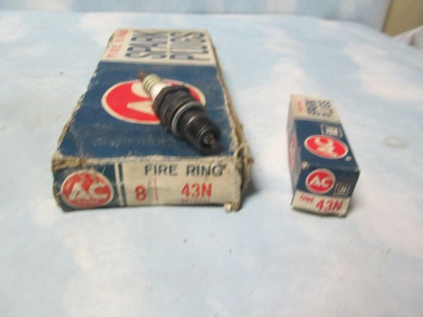 43N AC SPARK PLUGS FIRE RING GM