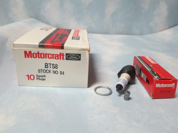 BTS8 MOTOCRAFT SPARK PLUG BOX OF 10 PLUGS NEW