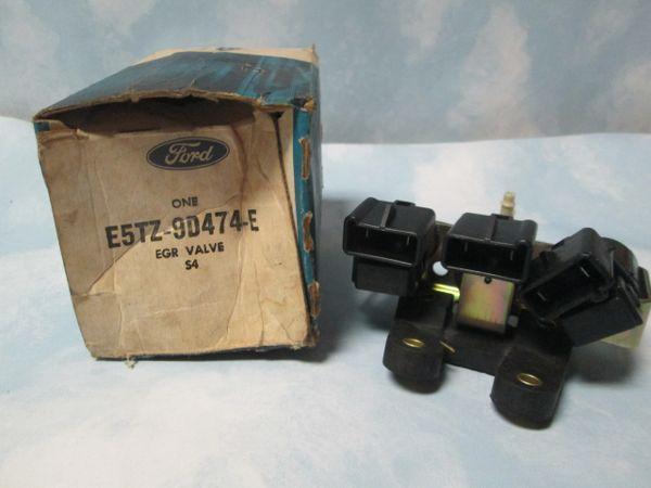 E5TZ-9D474-E FORD EGR VALVE NEW OEM