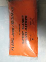 8982400196 AMC JEEP RENAULT BATTERY BLANKET NEW
