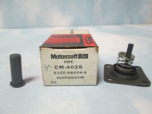 CM-4026 F150 MUSTANG MOTORCRAFT/E3ZZ-98559-A DIAPHRAGM NEW