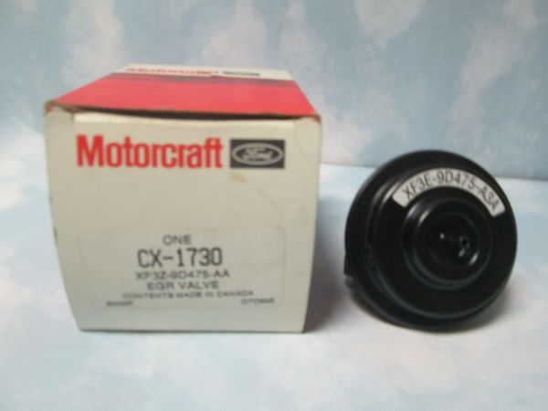 CX-1730 MOTORCRAFT 99-01 LINCOLN EXPLORER MERCURY MOUNTAINEER XF3Z-9D475-AA EGR VALVE