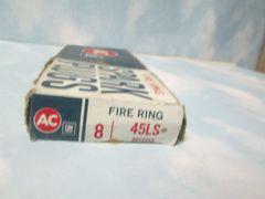 45LS AC SPARK PLUG BOX OF 8 RAMBLER NOS