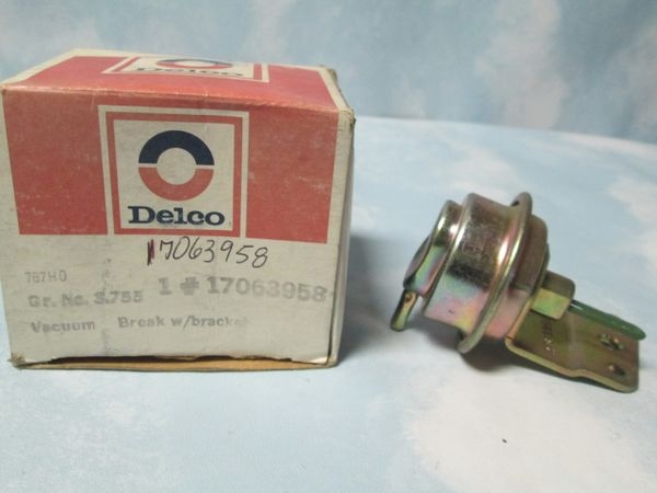 17063958 AC DELCO CARBURETOR CHOKE PULL OFF NEW OEM